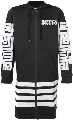 Kokon To Zai long printed hoodie