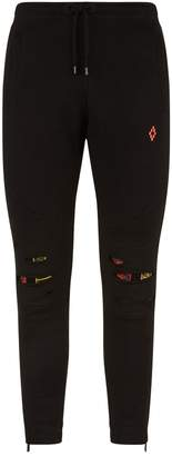 Marcelo Burlon County of Milan Distressed Tarot Sweatpants