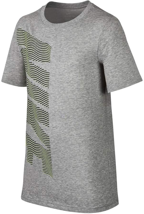 Boys 8-20 Nike Dri-FIT Linear Block Tee