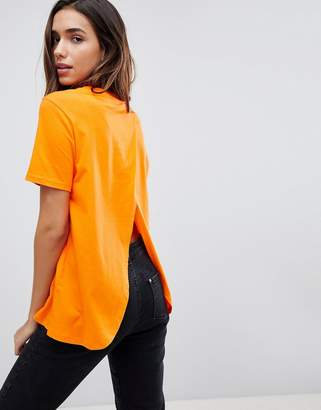 Asos DESIGN T-Shirt with Wrap Back