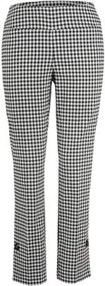 Up! Gingham Side Vent Pant