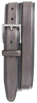 Cole Haan Pressed Edge Leather Belt