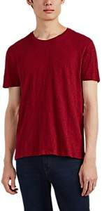 ATM Anthony Thomas Melillo Men's Slub Cotton T-Shirt - Red