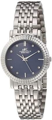 Adee Kaye Women's Quartz Stainless Steel Dress Watch