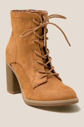 Indigo Rd Fabre Lace Up Low Shaft Boot - Rust