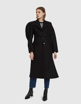 Aalto Asymmetric Wool Coat