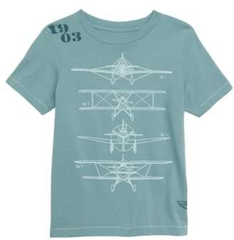Peek Airplane Graphic T-Shirt