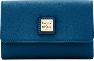 Dooney & Bourke Belvedere Flap Pebble Leather Wallet