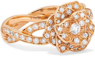 Piaget Rose 18-karat Rose Gold Diamond Ring