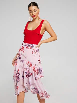 Portmans Australia Hanky Hem Midi Skirt