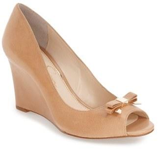 Jessica Simpson 'Lecia' Peep Toe Wedge Sandal $78.95 thestylecure.com