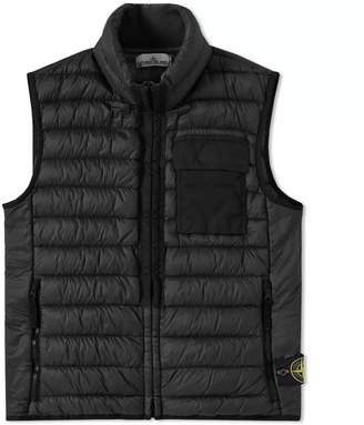 Stone Island Garment Dyed Down Filled Gilet
