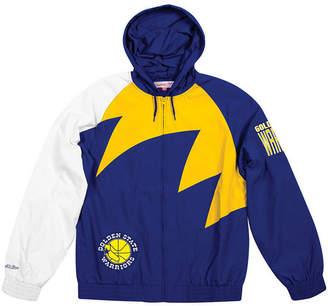 Mitchell & Ness Men Golden State Warriors Shark Tooth Jacket