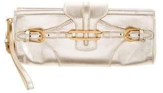 Jimmy Choo Leather Tulita Wristlet