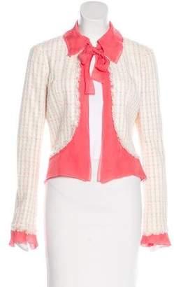Chanel Tweed Silk-Trimmed Jacket