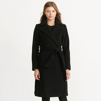 Ralph Lauren Wool-Cashmere Wrap Coat $390 thestylecure.com