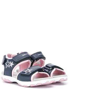 Geox Kids star glitter sandals