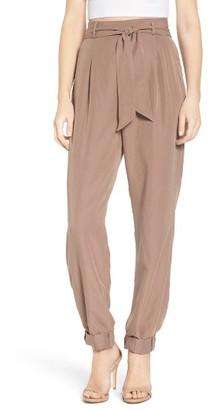 Women's Leith Tie Waist Pants $69 thestylecure.com