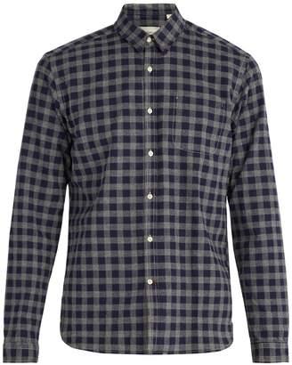 Oliver Spencer New York check cotton shirt