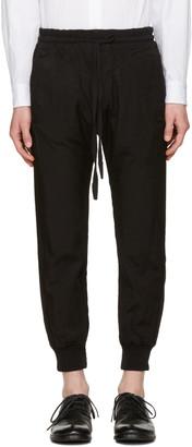 Haider Ackermann Black Lounge Pants $910 thestylecure.com