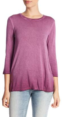 Cable & Gauge 3/4 Sleeve Knit Tunic (Petite)