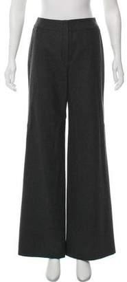 Chanel High-Rise Wool Pants