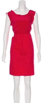 Alberta Ferretti Sleeveless Mini Dress Sleeveless Mini Dress