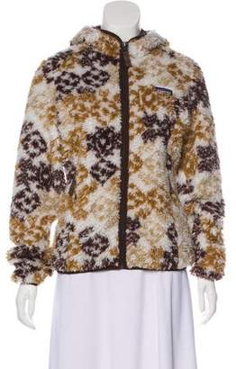 Patagonia Hooded Printed Jacket