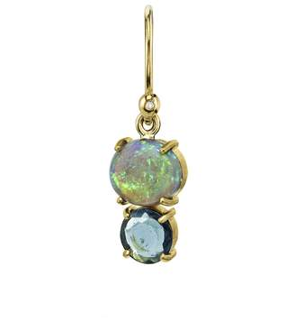 Irene Neuwirth One-of-Kind Opal And Tourmaline Single Earring