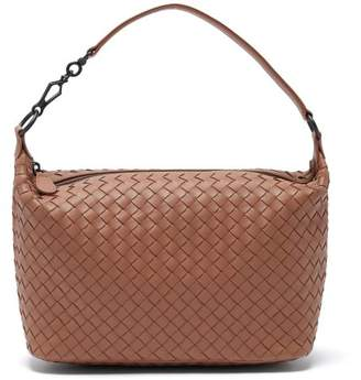 Bottega Veneta Ciambrino Intrecciato Leather Shoulder Bag - Womens - Nude