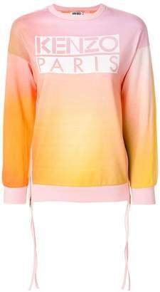 Kenzo side zip sweatshirt