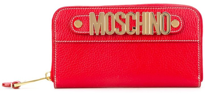 Moschino Moschino zip around wallet