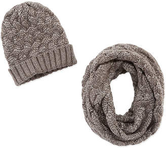 MIXIT Mixit Hat And Scarf 2-pc. Knit Cold Weather Set