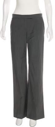 Theory Virgin Wool Mid-Rise Pants