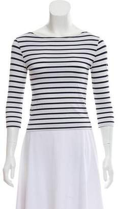Melissa Odabash Stripe Knit Top