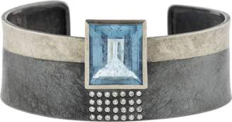 Todd Reed Aquamarine Cuff Bracelet
