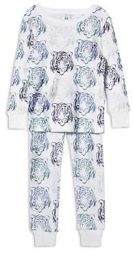 Aden and Anais Boys' Tiger-Print Pajama Set - Baby