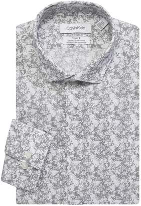 Calvin Klein Slim-Fit Non-Iron Dress Shirt