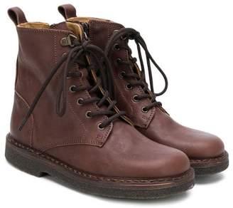 Pépé Kids lace-up ankle boots