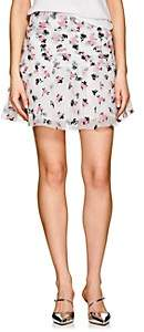 Jourden JOURDEN WOMEN'S EMBROIDERED ORGANZA GATHERED MINISKIRT