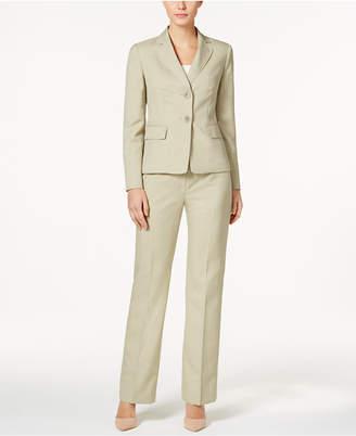 Le Suit Melange Two-Button Pantsuit $200 thestylecure.com