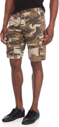 Buffalo David Bitton Camo Cargo Shorts