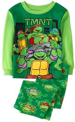 Crazy 8 Teenage Mutant Ninja Turtles Fuzzy 2-Piece Pajama Set