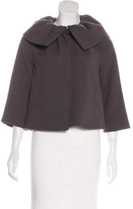 Loeffler Randall Collared Wool Jacket