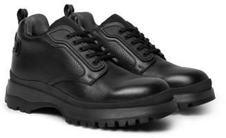 Prada Full-Grain Leather Boots