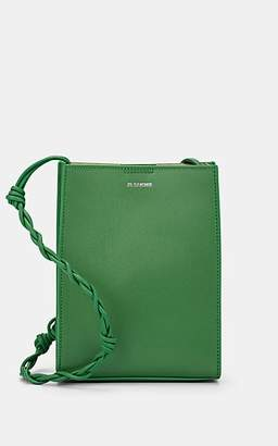 Jil Sander Women's Tangle Small Leather Crossbody Bag - Green