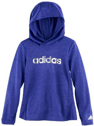adidas Girls 4-6x Space-Dyed Graphic Hoodie