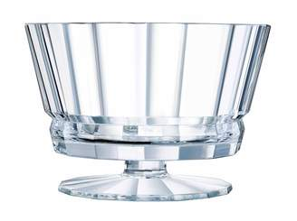 Cristal d'Arques Macassar Footed Comport 22cm Gift Boxed