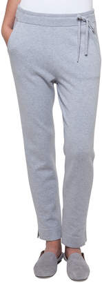 Akris Drawstring Cashmere-Silk Lounge Pants