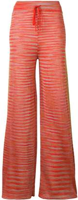 M Missoni knitted palazzo trousers